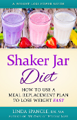 Shaker Jar Diet Book by Linda Spangle