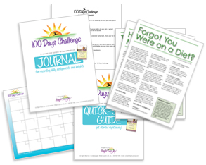 100 Days Challenge free support materials